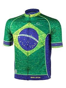 Camisa de Ciclismo Brasil Special