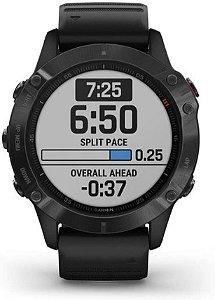 Monitor Cardíaco de Pulso com GPS Garmin Fenix 6 Pro Solar