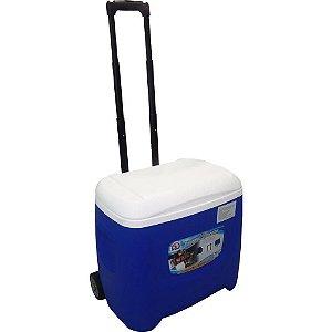 Caixa Termica 26l Island Breeze 28 Qt Roller Com Rodas