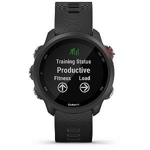 Monitor Cardíaco de Pulso com GPS Garmin Forerunner 245 Cinza sem Música