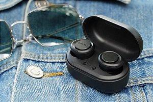 Fone de Ouvido  Bluetooth TWS TAT1215BK/97 Preto PHILIPS