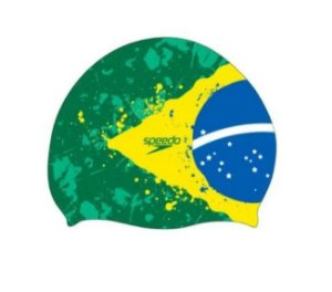 Touca de Natação Speedo Flat Brasil