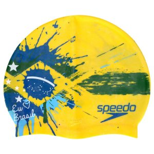Touca Eu Amo o Brasil Speedo
