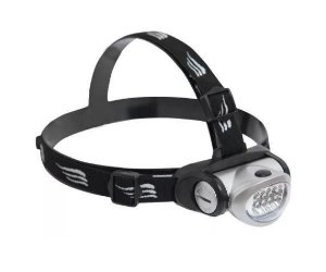 Lanterna de cabeça Ntk Turbo Led c/ Pilha AAA