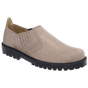 Sapato Camurça Sintético Abotinado Masculino Fearnothi