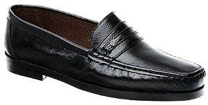 Sapato Casual Mocassim Masculino Fearnothi Couro Legítimo