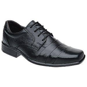 Sapato Social Infantil Masculino Fearnothi Couro Legítimo