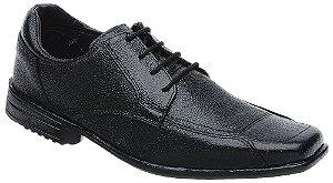 Sapato Social Masculino Com Cadasrço Fearnothi Couro Legítimo