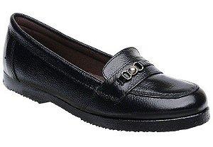 Sapato Feminino Fearnothi Coyote Colegial Couro Legítimo