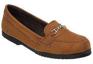 Sapato Feminino Coyote Colegial em Camurça