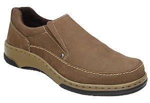 Sapato Casual Nobuck Castor