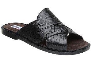 Sandálias Masculinas Em Couro