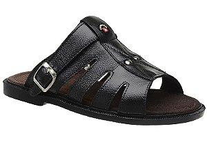 Sandálias Em Couro