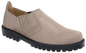 Sapato Camurça Sintético Abotinado