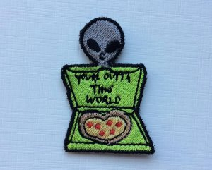 PATCH YOU'RE OUTTA THIS WORLD TUMBLR TERMOCOLANTE