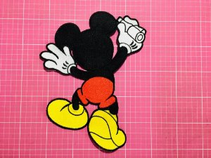 PATCH BORDADO MICKEY - EXTRA GRANDE
