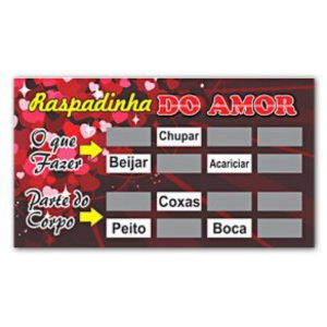 Raspadinha - Amor Miss Collection