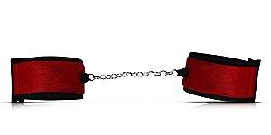 Algema de Tecido - Pelúcia - Vermelho