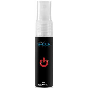 Spray Comestível - Liquid Shock - Efeito Eletrizante - Sexy Hot - 15ml