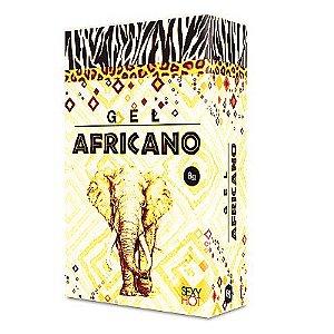 Gel anestésico anal Africano Sexy Hot - Reduz a sensibilidade anal - 8 gr
