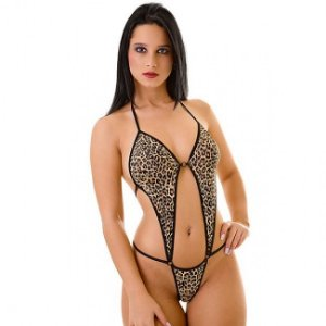 Body Feminino Onça - Love Fantasies - 38 ao 46