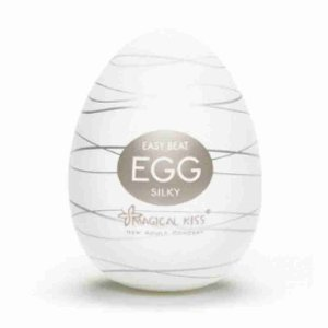Masturbador Maculino Egg - Silky