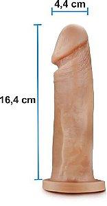 Pênis realístico 75 - Maciço - 16,4 x 4,4 cm