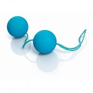 Bolinhas Tailandesas Ben-Wa Soft Touch para Pompoar - Azul