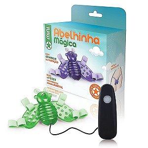 Vibrador Butterfly Mini - Abelha Fosforescente - 12 Velocidades