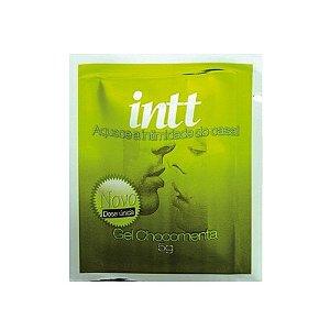 Gel Comestível - Sexo Oral - Aquece - Intt - Chocomenta - 5g