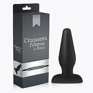 Plug Anal Cone - Cinquenta Formas de Amar - 14,5 x 5 cm
