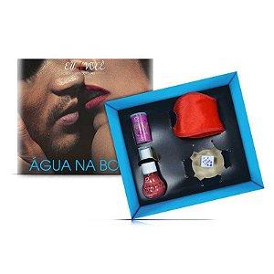Kit para Sexo Oral Água na Boca Linha Eu e Você