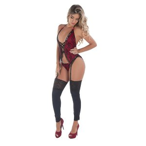 Body Feminino - Renda Dupla - Love Fantasies - 38 - 46