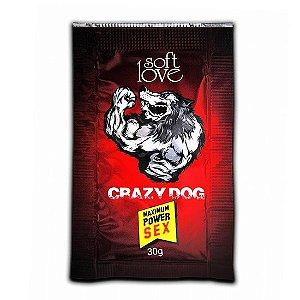 Energético Crazy Dog Gel Soft Love Taurina Cafeina 30g