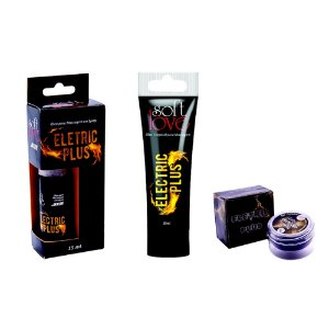 Gel Excitante Eletric Plus Soft Love Choques