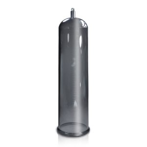 Tubo para Bomba Peniana - Acrílico - Fume - 23 x 6 cm