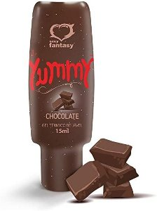 Gel Térmico Para Sexo Oral - Sabor Chocolate- Yummy