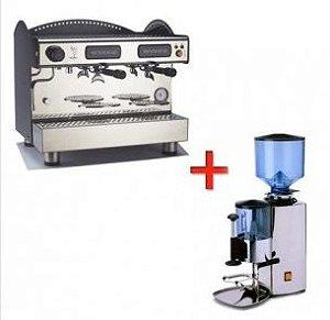 Combo Máquina de Café Expresso Bezzera + Moinho Profissional Bezzera