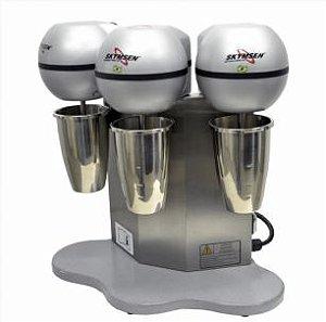 Batedor de Milk Shake com Copo Inox, 3 Hastes - 220V Skynsen