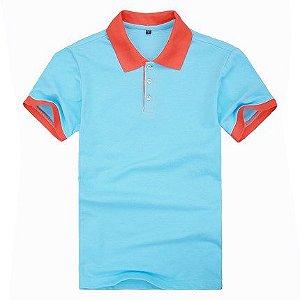3f54aa7ba Camisa Personalizadas em duas cores Masculino - Uniformes personalizados