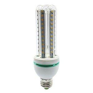 Lâmpada Compacta Led 3U 16W E-27 - Luz Branca Fria e Quente