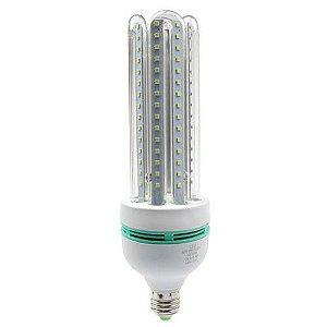 Lâmpada Compacta Led 4U 20W E-27 - Luz Branca Fria e Quente