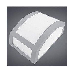 Arandela Led em Policarbonato uso Interno e Externo E27 - Cores Branca ou Preta
