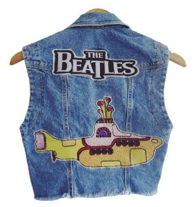 Colete The Beatles- patch