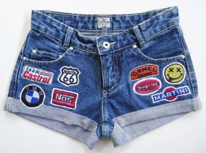 Short - ROUTE 66 - pacth exclusivo