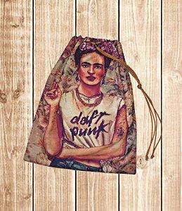 Saco de Organização - Frida kahlo