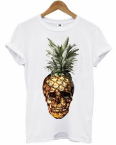 T-Shirt - Abacaxi Skull
