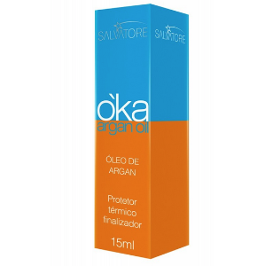 Protetor Térmico - Oka Argan Oil 15ml - Salvatore