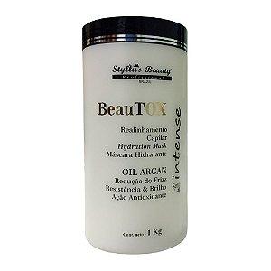 Btx Oil Argan - Realinhamento Capilar BeauTox Forte 1kg Styllus Beauty