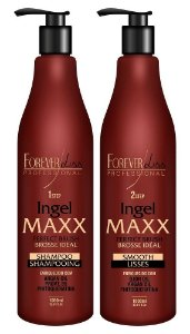 Kit Escova Progressiva Ingel Maxx 1L - Forever Liss